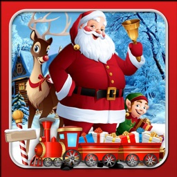 Santa Christmas Train Sim