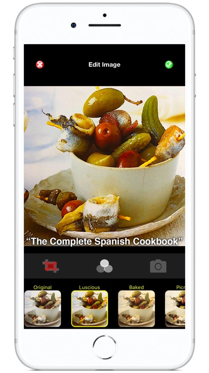 Recipe Selfie for Cookbooks screenshot-0