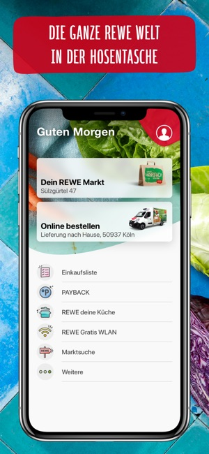 Rewe Angebote Lieferservice On The App Store