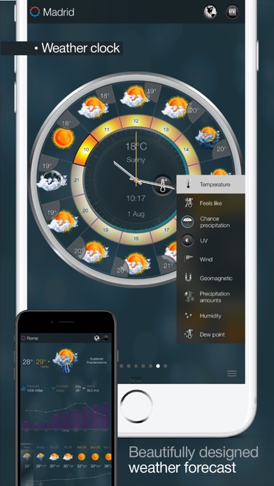eWeather HD - Weather forecast Premium Screenshot 2