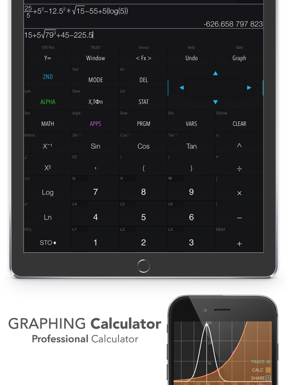 Graphing Calculator Plus Screenshots