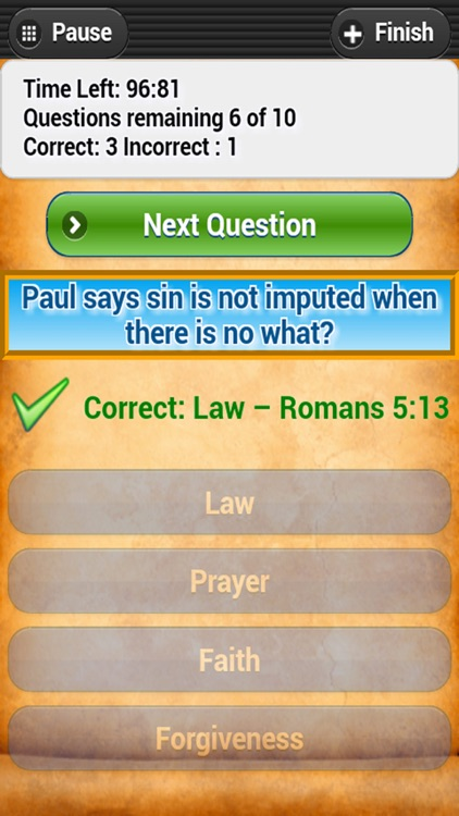Bible Trivia Quiz - No Ads - Bible Study screenshot-2