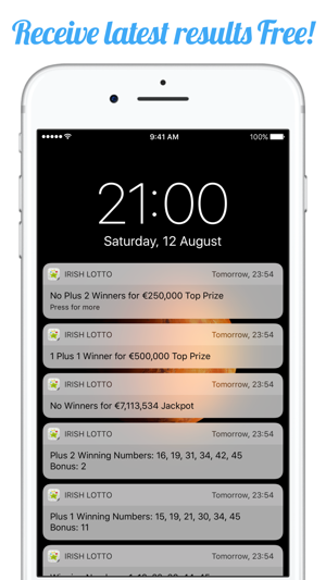 Irish National Lotto Results on the App Store