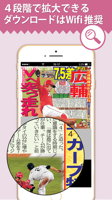デイリー広島版Lite ScreenShot3