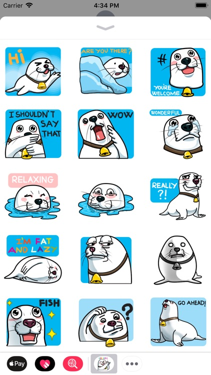 Not Seal But Seal Sticker
