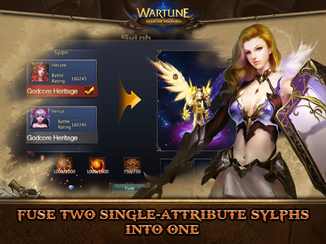 WARTUNE: HALL OF HEROES on the App Store