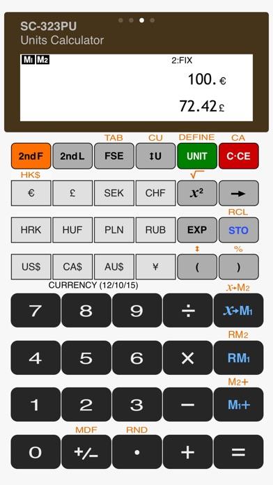 Scientific Calculator SC-323PU Скриншоты6