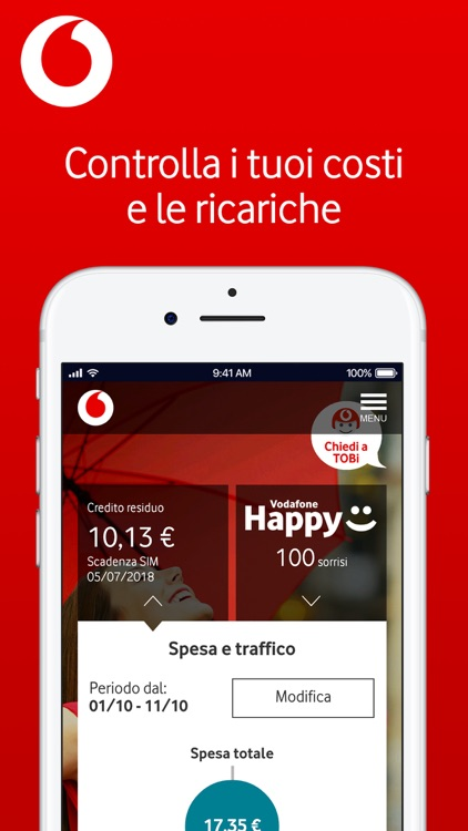 My Vodafone Italia screenshot-2