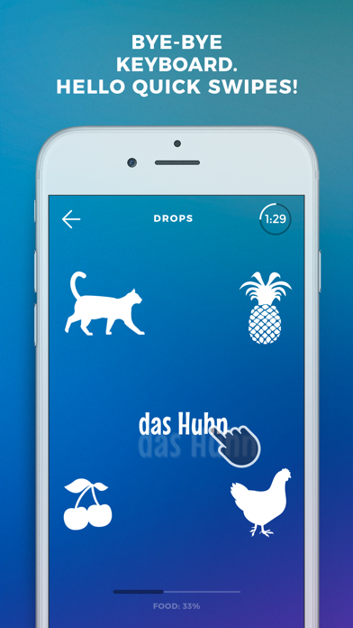 Screenshot #6 for Learn German language by Drops
