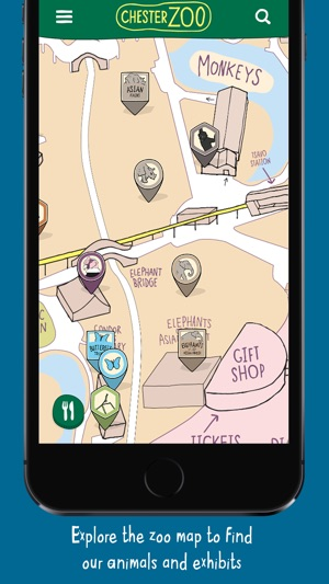 Map Of Chester Zoo England.Chester Zoo On The App Store