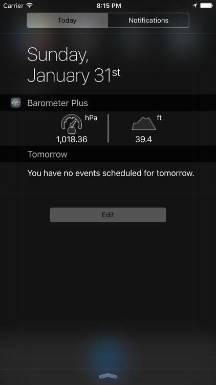 Barometer Plus - Altimeter PRO
