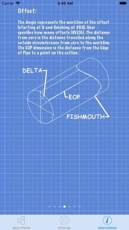 Piping Base Elbow Layout Calc screenshot-6