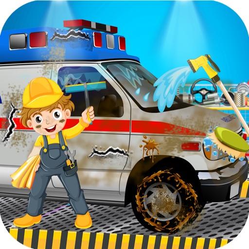Emergency Vehicle Clean Up