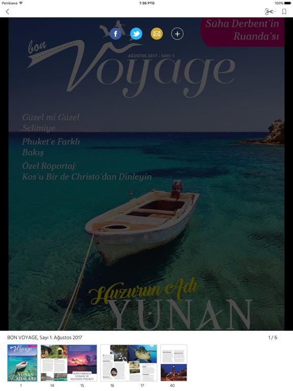 BON VOYAGE Magazine screenshot 8