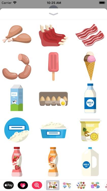 All Foods Stickers screenshot-5