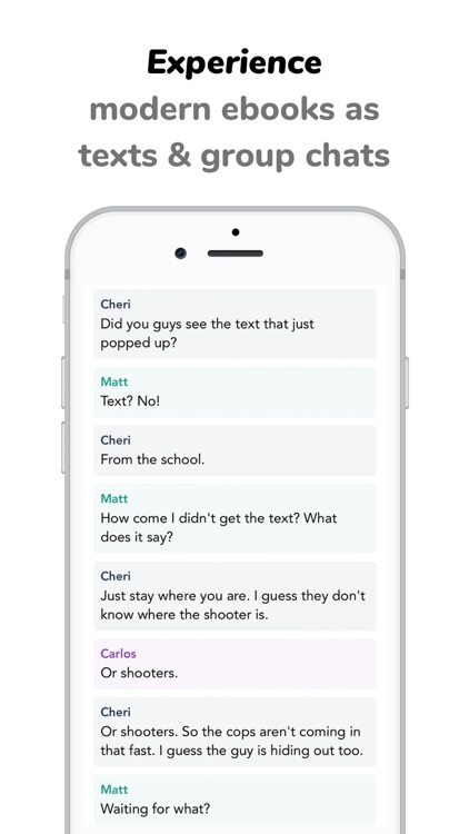 Texties - Text & Chat Stories