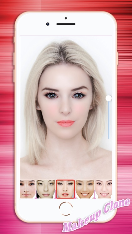 Beauty Selfie Facing Camera