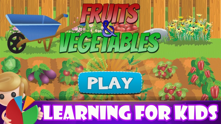 Fruits And Vegetables Learn