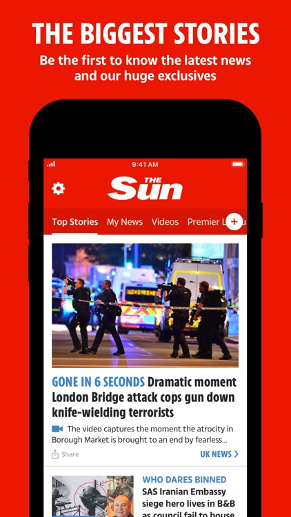 The Sun Mobile - Daily News screenshot-0