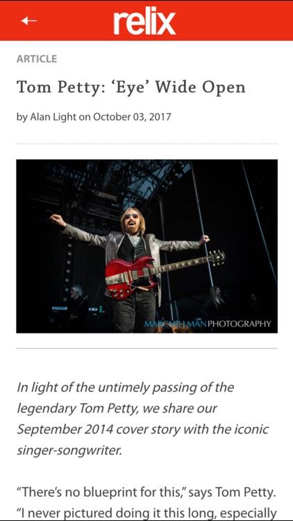 Relix Magazine screenshot-3