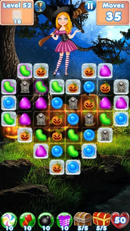 Candy Halloween Games Match 3