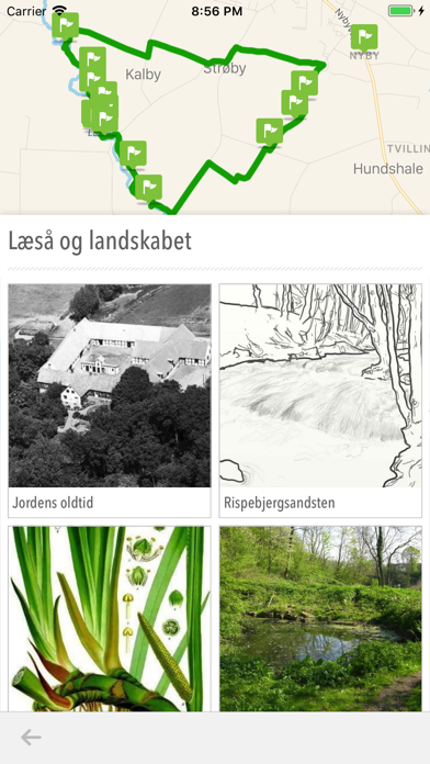 Linjer i landskabet screenshot 2