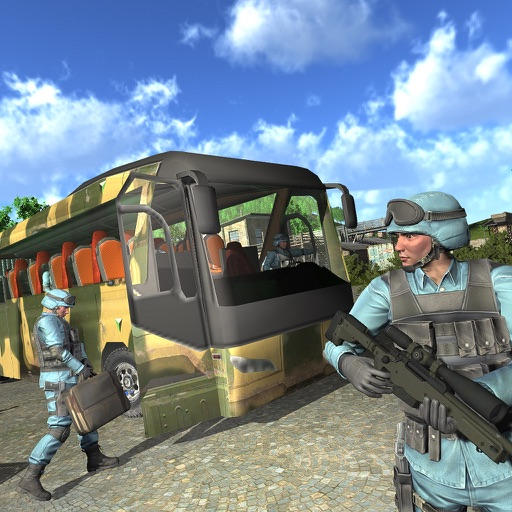 Army Coach Bus Simulator 18