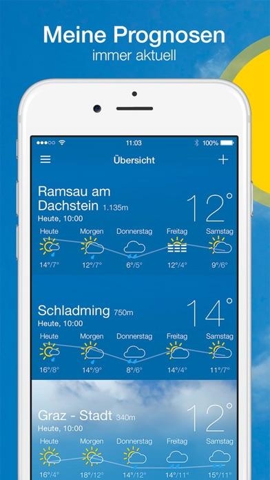 Screenshot #1 pour bergfex/Wetter