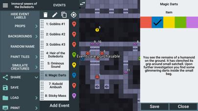 ProD&D Dungeon Generator Screenshot