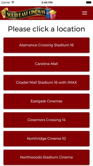 Southeast Cinemas On The App Store