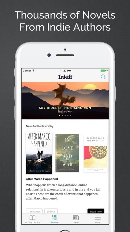 Inkitt: Books, Novels, Stories screenshot-0