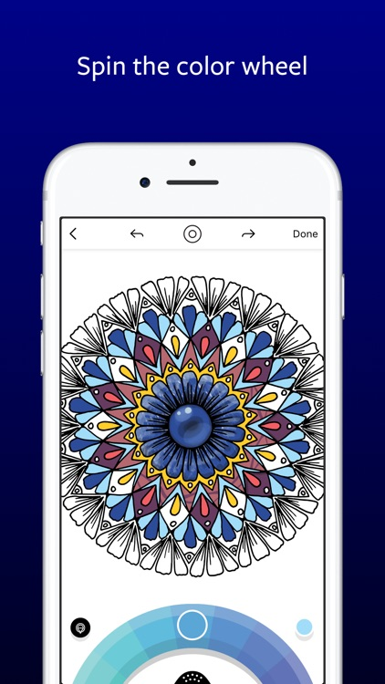 Lake: De-Stress Therapy with Art Coloring Pages screenshot-4