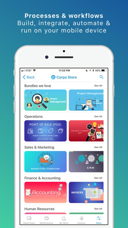 Corpa - Business Apps & Comms