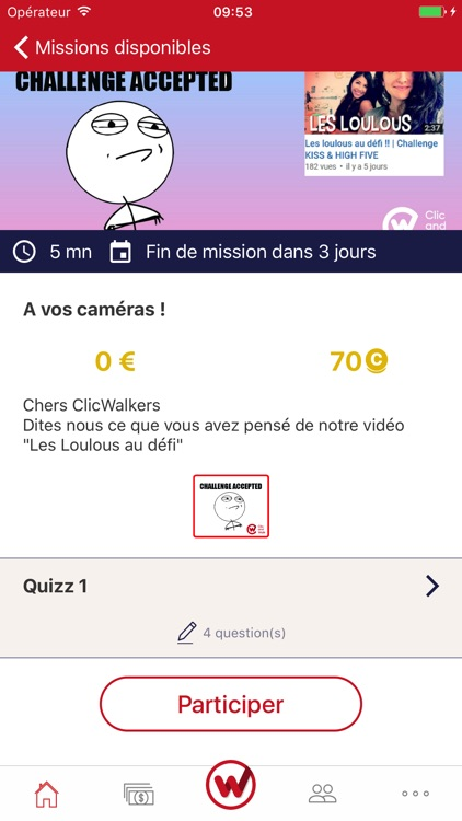 Clic and Walk Gagnez des euros screenshot-1