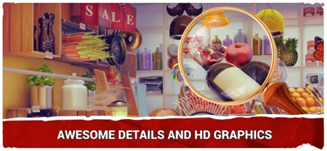 Hidden Objects Grocery Store