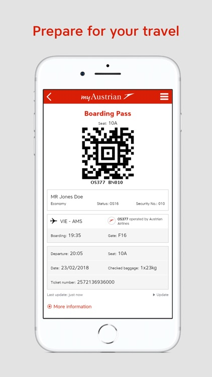 Austrian Airlines screenshot-4