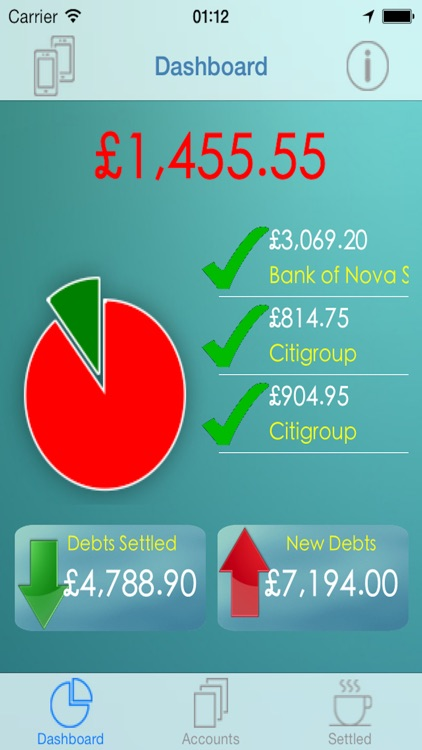 iCreditPit - Debt Management and Consolidation screenshot-0