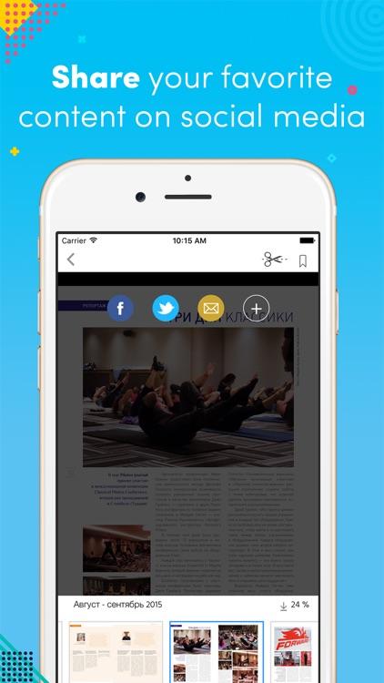 Pilates journal screenshot-3