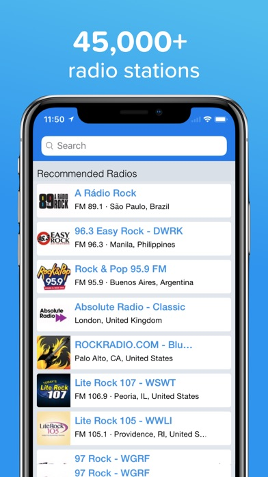 Simple Radio - Live AM & FM app image