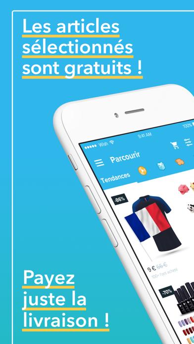 Wish - Acheter en s'amusant pour Android