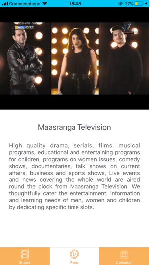 Maasranga Television on the App Store