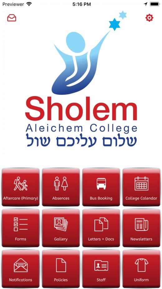 Sholem Aleichem College App 截图