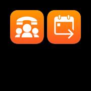 Conference Call Dialer + Forward Calendar Meetings Bundle