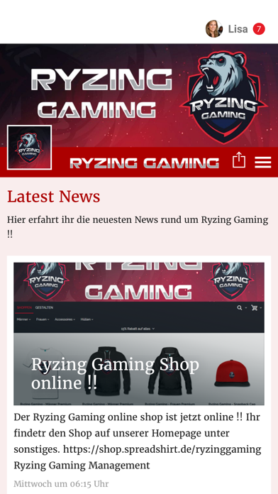 Ryzing Gaming screenshot 1