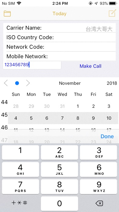 CallPhoneCall - Telephone Memo screenshot 3