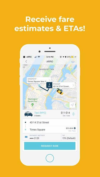 Arro - Your Taxi, Your Way screenshot-3