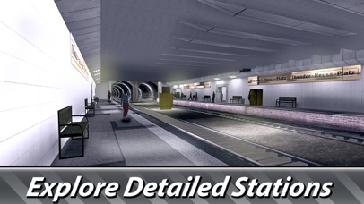 Berlin Subway Driving Simulator Full screenshot 3