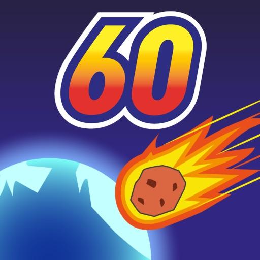 Метеорит 60 секунд!