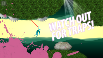 Hanger - Rope Swing Game screenshot three