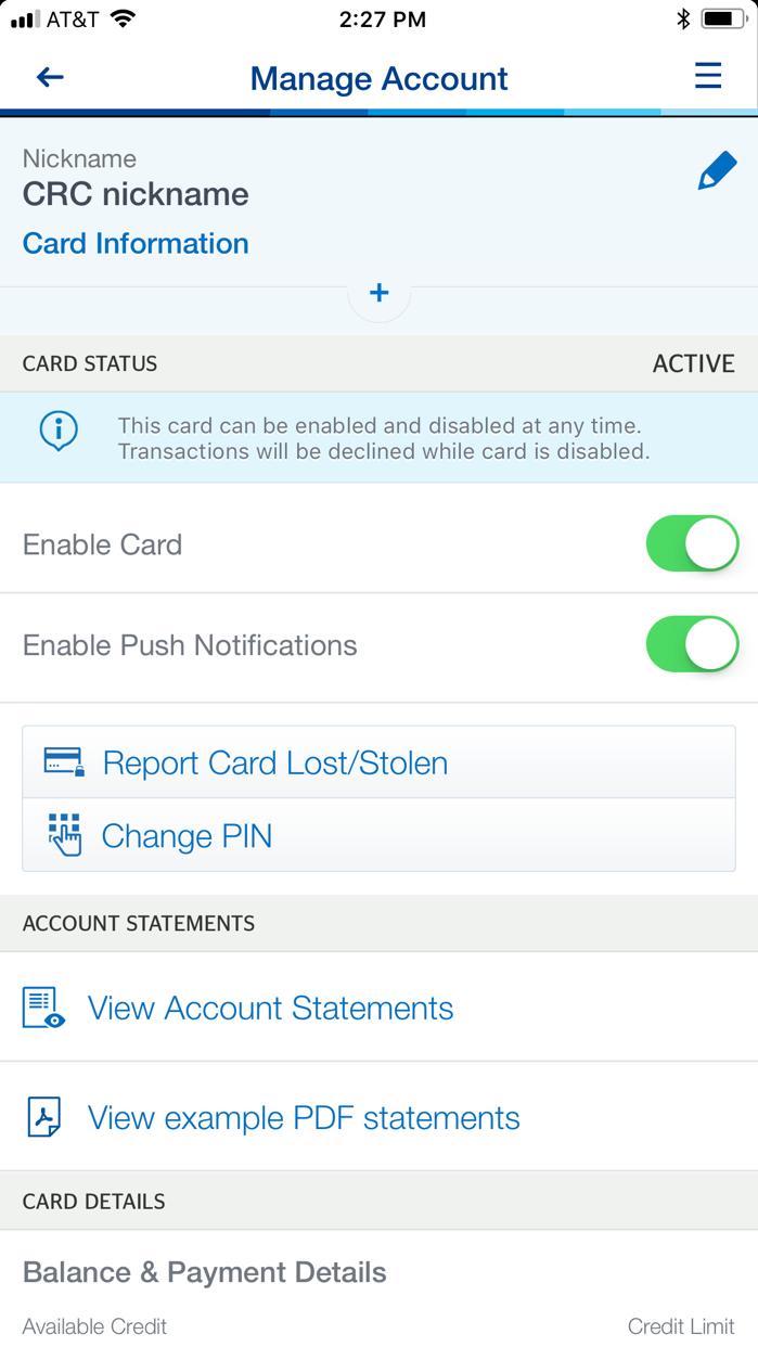 BBVA Compass Mobile Banking Screenshot